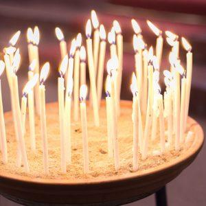 Kerzenlichter für Christnacht